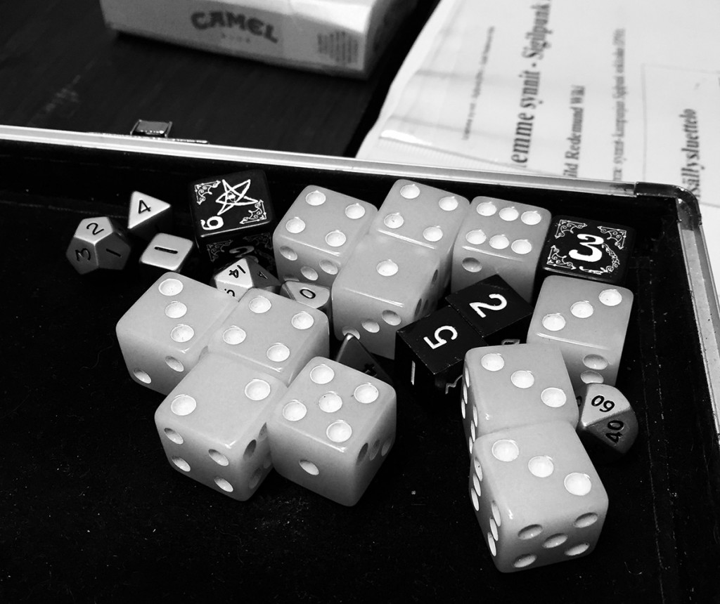 No dices were used while creating the campaign setup.