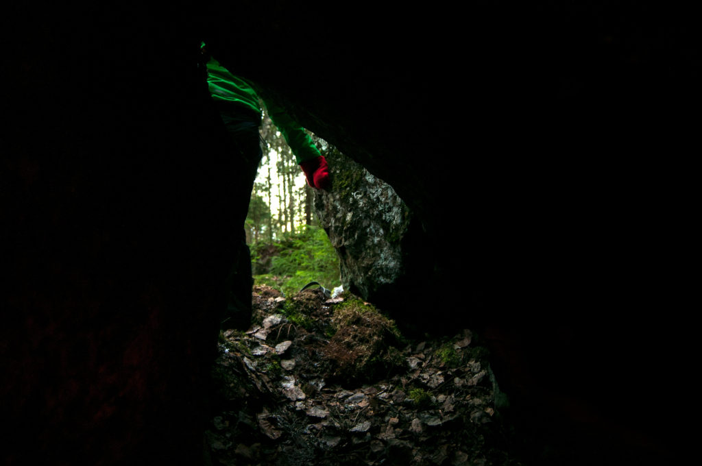 Entrances to caves can be hard to access or small in size.