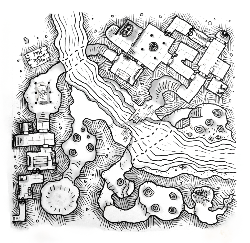 One of the river dungeons. Published with permission.